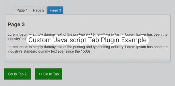 Javascript-Responsive-Tab-free-download
